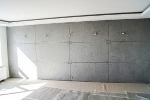 Beton podzielony na płyty